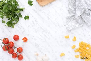 Food styled stock photography