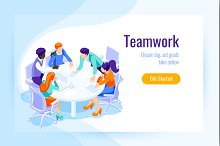 Landing page office achieve goal