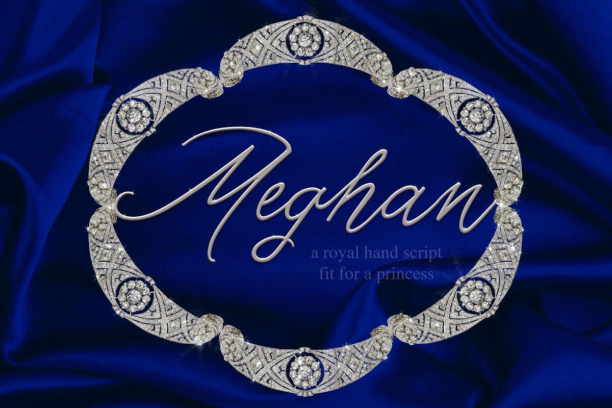 Meghan Hand Script ~ Script Fonts ~ Creative Market
