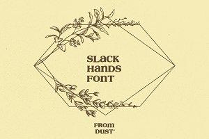 FDS - SLACK HANDS FONT