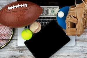 Betting on various sports with tech