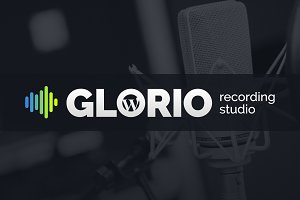 Glorio Sound Studio WordPress theme