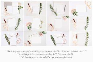 Wedding Stationery Mockup Bundle