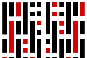 Vertical Linear Sequence Pattern Des