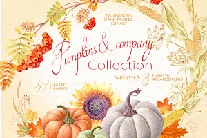 Pumpkins & company Collection
