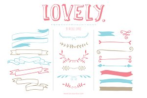 Lovely (Clipart)