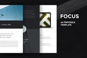 A4 | 18 Vertical Templates Bundle