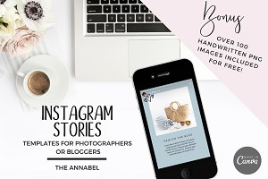 Canva Instagram Stories Template