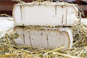cheese in the hay