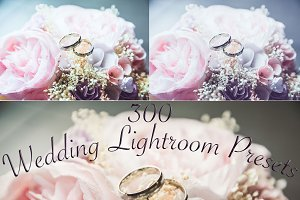 300 Wedding Lightroom Presets, light