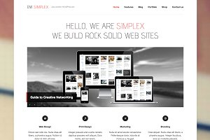DW Simplex - WP Responsive Portfolio