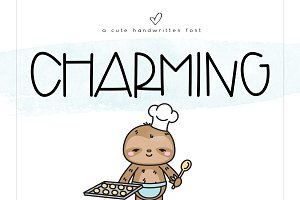 Charming - A Cute Handwritten Font