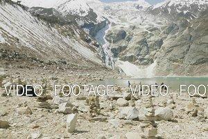 Mountain lake Birendra in Nepal