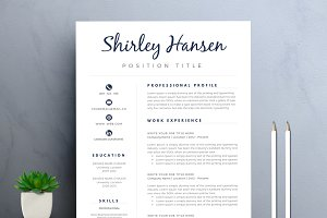 Resume/CV Template for Word