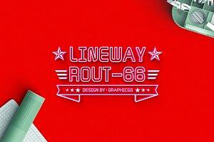 Lineway Font
