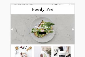 Foody Pro - WordPress Food Blogger