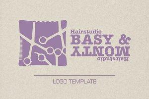 Hairstudio Logo Template