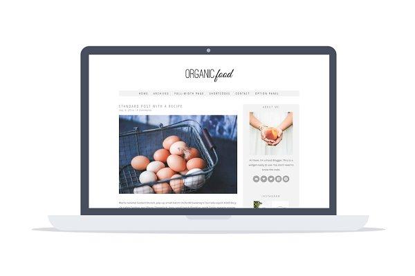 Organic Food -Wordpress Recipe