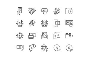 Line Payment Icons