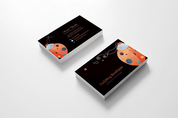 Ladybug business card template business card templates creative ladybug business card template business card templates creative daddy colourmoves