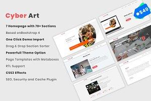 CyberArt - Business,Startup WP Theme