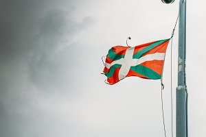 Flag of the Basque country - one of