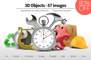 3D Objects - Set 01