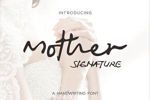 Mother signature