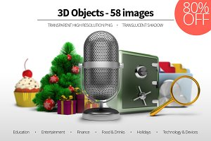 3D Objects - Set 02