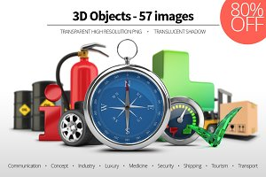 3D Objects - Set 03