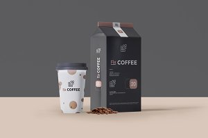 Coffee Packaging Mockup 2 Psd Mockup Best Site To Get Free Mockup Templates For Designers
