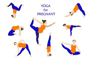 Yoga poses for pregnant