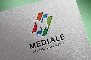 Mediale - Letter M  Logo