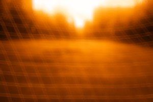 Football goal net bokeh background