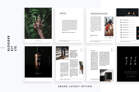 Ebook Template | PowerPoint ~ Magazine Templates ~ Creative Market