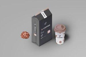 Coffee Packaging Mockup 3