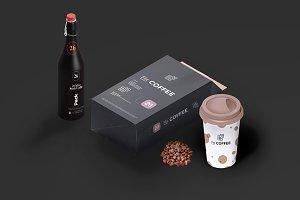 Coffee Packaging Mockup 4
