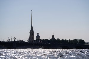 Silhouette of the Peter and Paul For