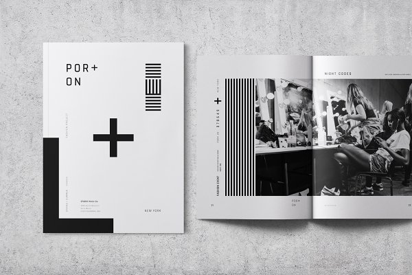 Brochure Templates: Bons - Fashion Lookbook / Brochure