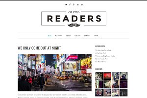 Readers - Responsive WordPress Theme