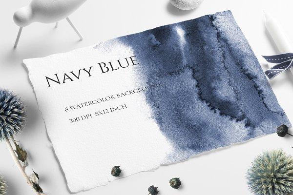 Navy Blue Ombre Texture SALE