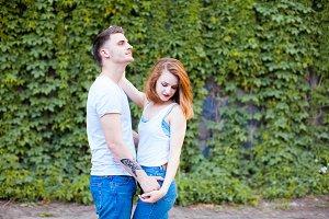 Sensual closeness of lovers