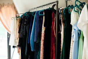 Big wardrobe at home