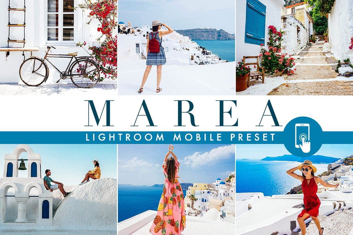 MAREA · Lightroom Mobile Preset ~ Other Design Software Add-Ons