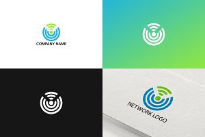Networking logo design