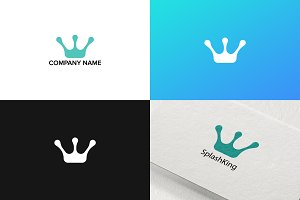 Crown logo design