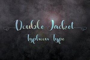 Double Jacket font