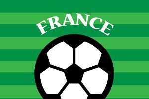 France Versus Uruguay Soccer Match