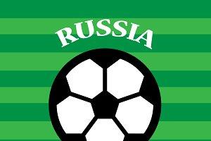Russia Versus Croatia Soccer Match D
