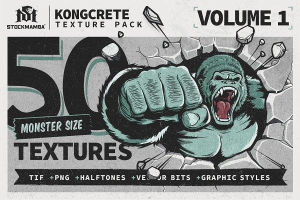 Textures: StockMamba - KongCrete Texture Pack